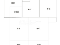 汉邦景城电梯房 北实小学区 户型方正 交通便利南北通透送车库与储藏室